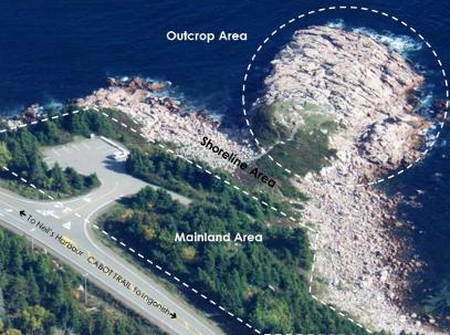 Stantec Report: Green Cove Outcrop area